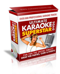 ultimate karaoke dvds