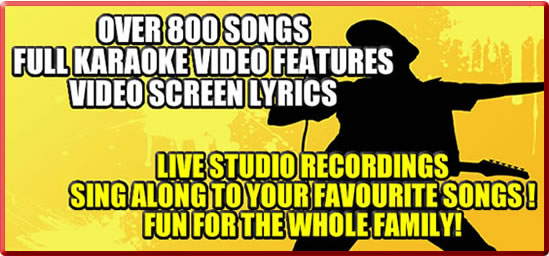 800 Karaoke Songs Sub Header