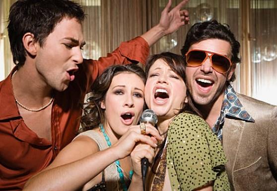 karaoke fun singing